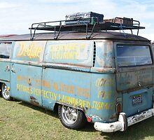 VW Camper, Norfolk, UK by Teresa Lewis