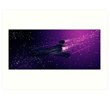 Space Cruiser Art Print