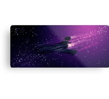 Space Cruiser Metal Print