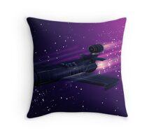 Space Cruiser Throw Pillow