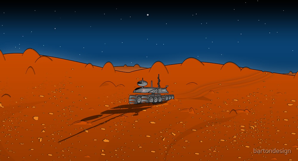 Roaming Mars by bartondesign