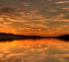 Anticipations of Day - Narrabeen Lakes, Sydney Australia - The HDR Experience by Philip Johnson
