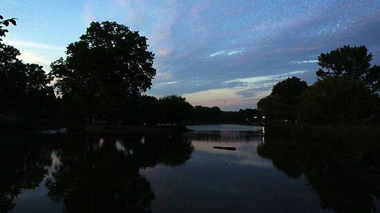 Lake Sunset by Jessica Liatys