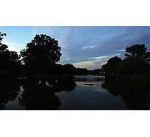 Lake Sunset Photographic Print