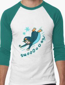 Penguin Kigurumi Men's Baseball ¾ T-Shirt