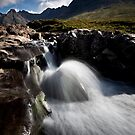 River Brittle and the Black Cuillins by Roddy Atkinson