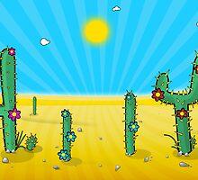 The Desert by bartondesign