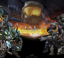 Halo: Reach Poster by CornrowJezus