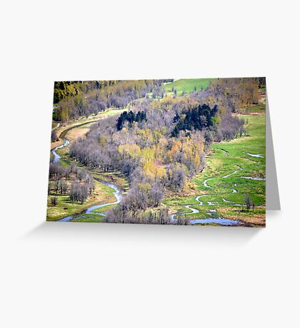 """One view from Crown Point, Oregon"" Greeting Card"