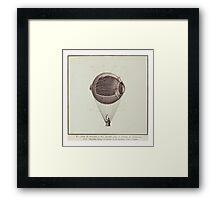 Eye Balloon Framed Print