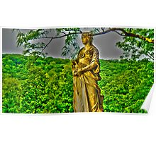 HDR Statue Poster