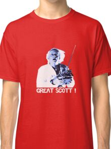Back to the future - Great Scott ! Classic T-Shirt
