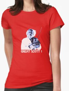 Back to the future - Great Scott ! Womens Fitted T-Shirt