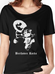 Beethoven Rocks! Women's Relaxed Fit T-Shirt
