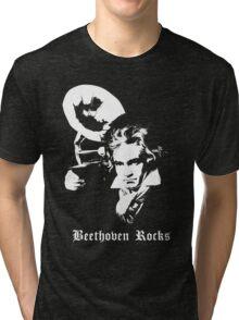 Beethoven Rocks! Tri-blend T-Shirt