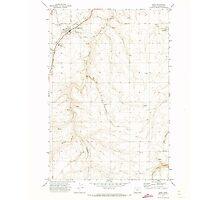 USGS Topo Map Oregon Moro 280794 1971 24000 Photographic Print