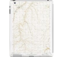 USGS Topo Map Oregon Moro 280794 1971 24000 iPad Case/Skin