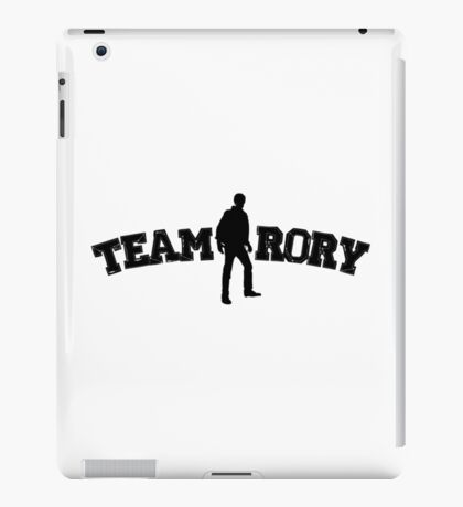 Team Rory Doctor Who  iPad Case/Skin