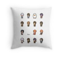 Pixel Gintama set Throw Pillow