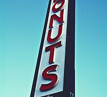 Donuts sign by Justintron