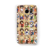 Hetalia Group Samsung Galaxy Case/Skin