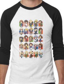 Hetalia Group Men's Baseball ¾ T-Shirt