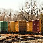 Box Cars by Tom Allen
