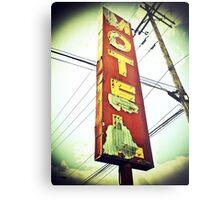 Highway 99 Motel Metal Print