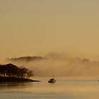 Sunrise Harbor by Tom Allen