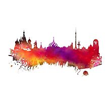 Moscow skyline Photographic Print