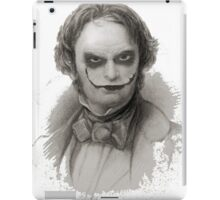 Wordsworth as Joker iPad Case/Skin