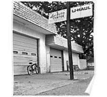 Lou's auto center Poster