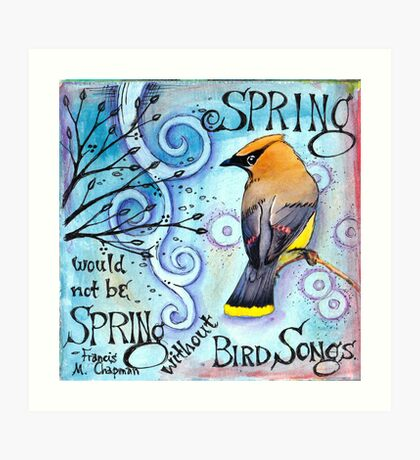 Spring Songs Art Print