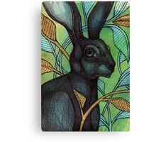 The Hidden Hare Canvas Print