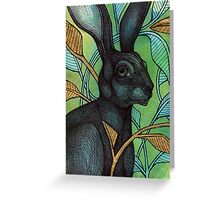 The Hidden Hare Greeting Card