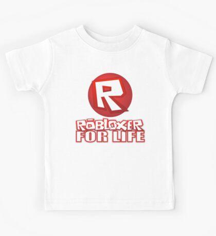Robloxer For Life Kids Tee