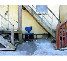 Office Chair Photographic Print