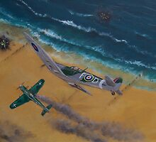 Battle over Normandy by Lee Twigger