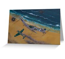 Battle over Normandy Greeting Card