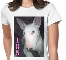MILEY THE BULL TERRIER Womens Fitted T-Shirt
