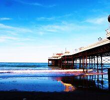 Cromer Pier, Norfolk, England by Vincent J. Newman