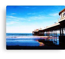 Cromer Pier, Norfolk, England Canvas Print