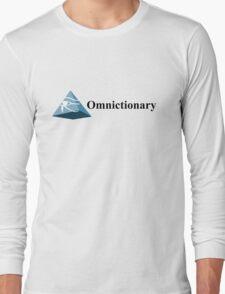 Omnictionary – Paper Towns, John Green, DFTBA, Radar Long Sleeve T-Shirt