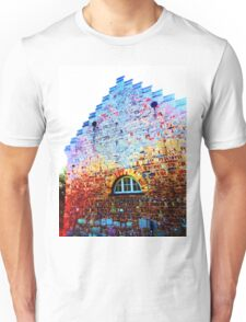 Scary Crying House - Unique Photography  Unisex T-Shirt