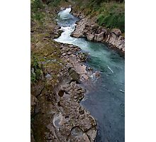 East fork Lewis River view from NE Hantwick Road bridge Photographic Print
