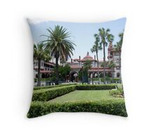 Ponce De Leon Hotel Throw Pillow
