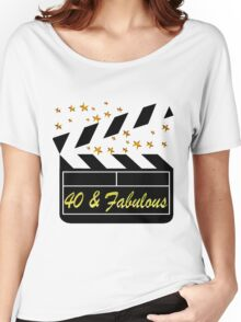 40TH MOVIE QUEEN Women's Relaxed Fit T-Shirt