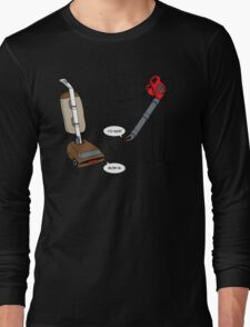 Leaf blowers are mean (vacuum cleaners talk back) T-Shirt