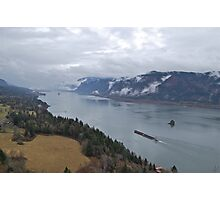 Columbia River view from Cape Horn Photographic Print