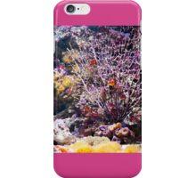 Coral reef aquarium iPhone Case/Skin